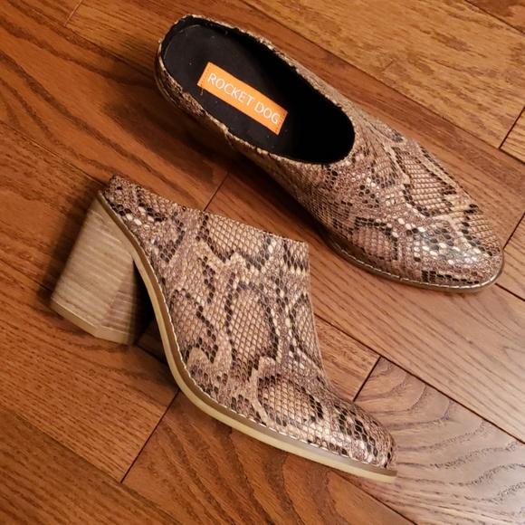 Rocket Dog Shoes - ROCKET DOG  BOOT mules size 8.5